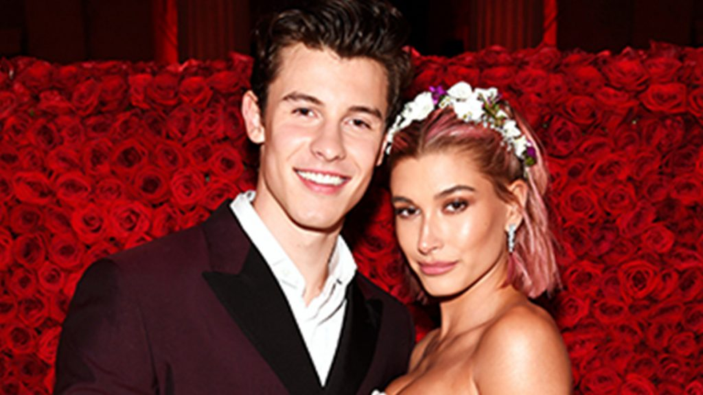 shawn mendes and hailey baldwin at the met gala