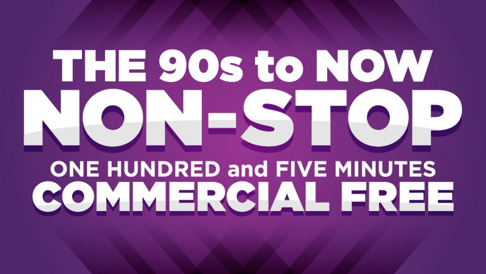 105 Minutes Commercial Free!