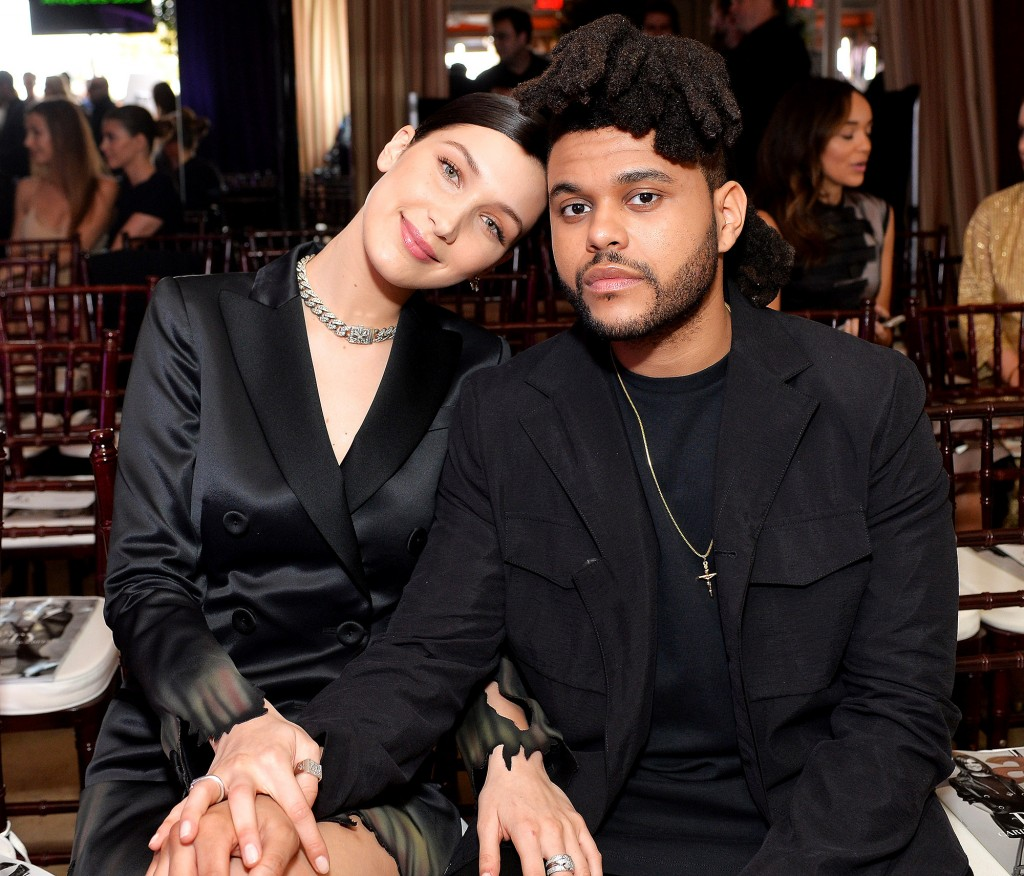 the weeknd, abel tesfaye, bella hadid