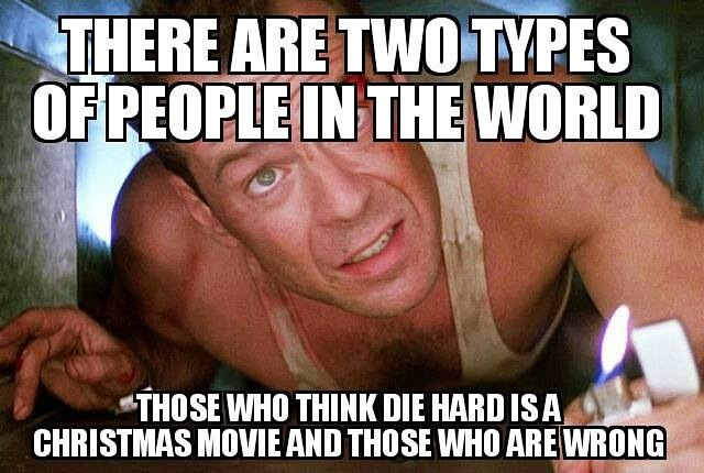 DIE HARD WRONG