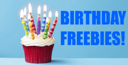 Where to go in the city for FREE Birthday Goodies!