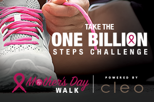 ONE BILLION STEPS CHALLENGE: The Breast Cancer Society of Canada